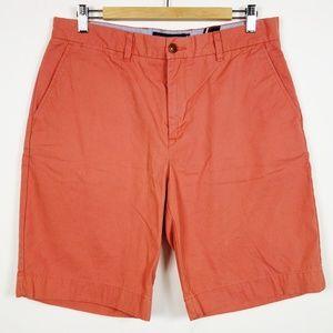 Tommy Hilfiger Salmon Cotton Chino Shorts 34 Men's